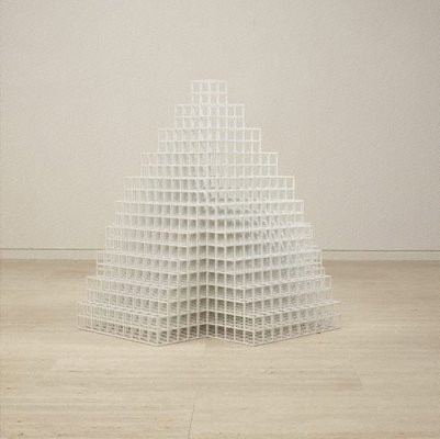 Alternate image of Pyramid by Sol LeWitt