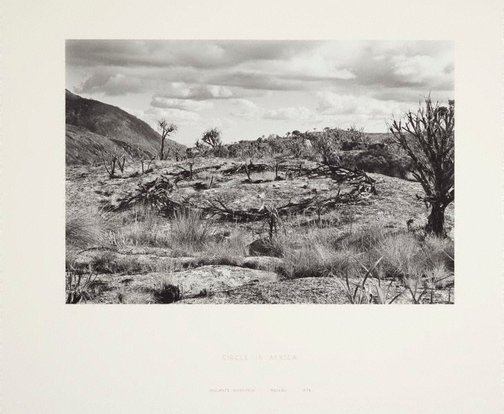 An image of Circle in Africa by Sir Richard Long