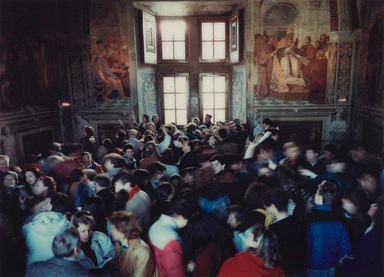 AGNSW collection Thomas Struth Stanze di Raffaello II, Roma (1990) 315.2016