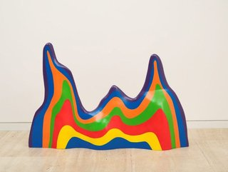 AGNSW collection Sol LeWitt Non-geometric form (splotch) #5 (1999) L2011.67