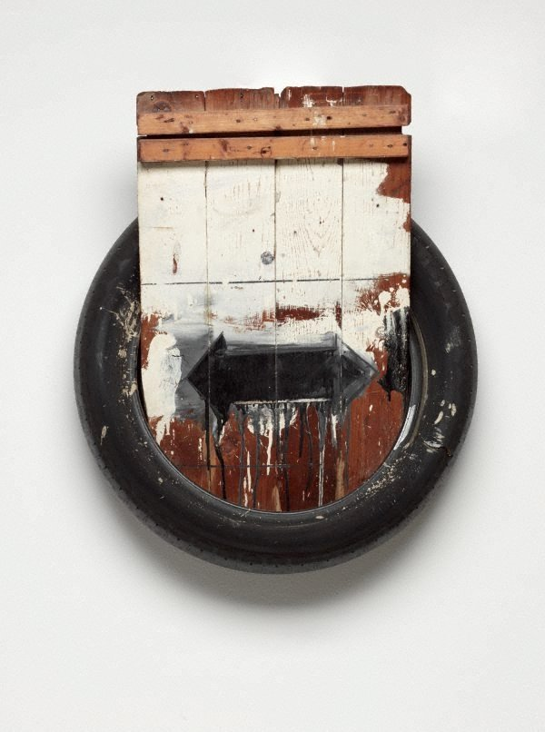 Dylaby, (1962) by Robert Rauschenberg