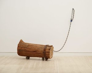 Log dog, 1970 by Aleks Danko