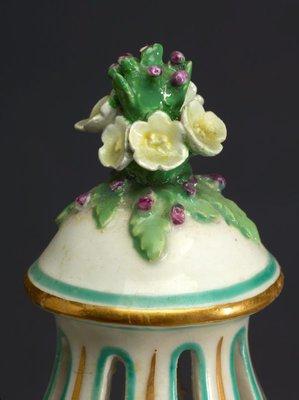 Alternate image of Pot-pourri vase [one of pair] by Chelsea