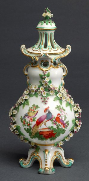 An image of Pot-pourri vase [one of pair] by Chelsea