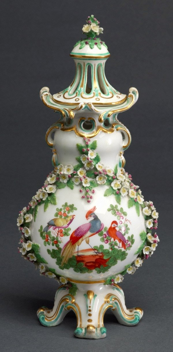 An image of Pot-pourri vase [one of pair]