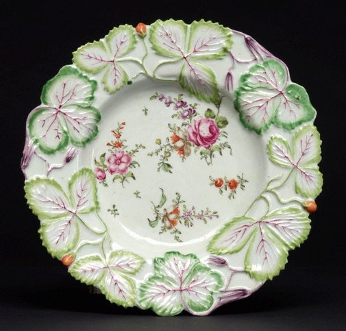 An image of Plate by Longton Hall