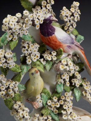 Alternate image of Birds in branches' candlestick [one of a pair] by Derby