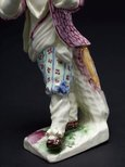 Alternate image of Boy playing the pipe by Mennecy-Villeroy porcelain