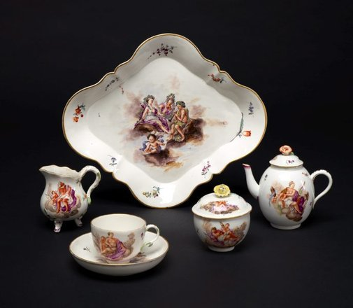 An image of Tea service by Höchst