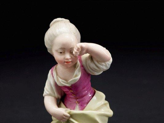 Alternate image of Girl crying over spilt milk, model by Höchst