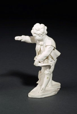Alternate image of Boy offering flowers by Sèvres