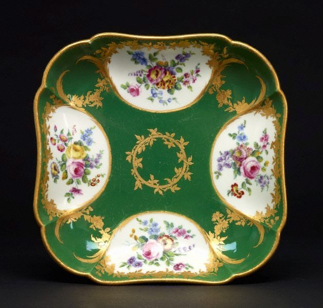 An image of Square dish (compotier carré)
