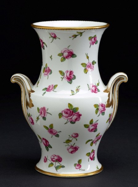 An image of Vase [one of pair] by Sèvres