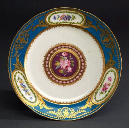 An image of Plate (assiette uni) by Sèvres