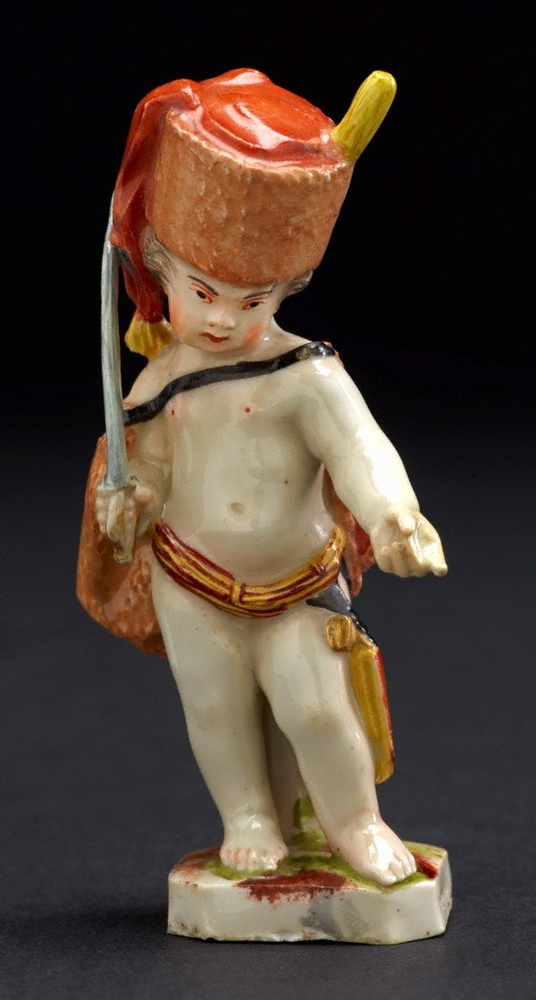 An image of Putto as hussar
