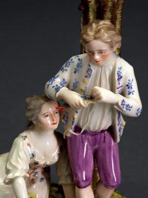 Alternate image of Fisherfolk by Zurich Porcelain Manufactory
