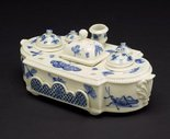 Alternate image of Inkstand by Saint-Cloud porcelain factory