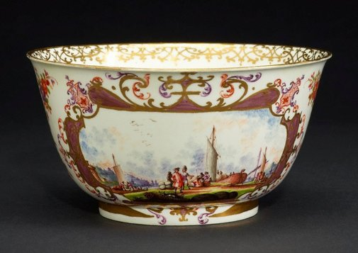 An image of Slop bowl by Meissen