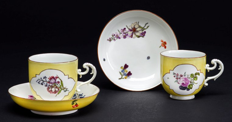 Alternate image of Cup and saucer by Meissen