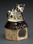 Alternate image of Dog on kennel by Meissen