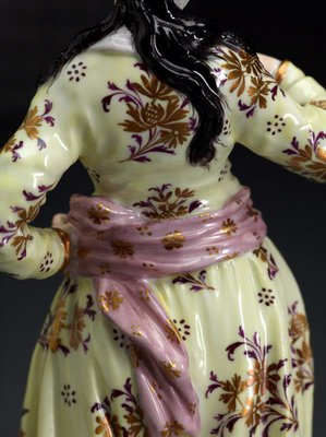 Alternate image of Persian lady by Meissen