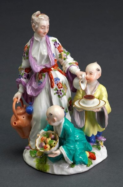 An image of The delights of childhood (Les delices d'enfance), model by Meissen