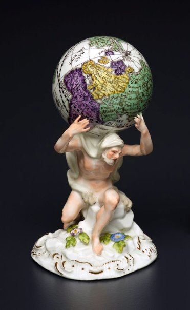 An image of Atlas by Meissen