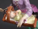 Alternate image of Savoyard woman with cradle, model by Meissen