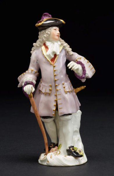 An image of The squire of Alsatia, model by Meissen