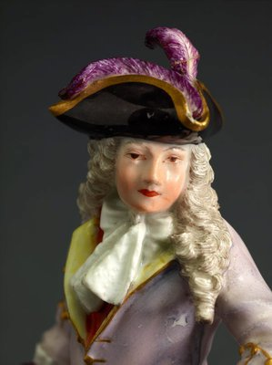 Alternate image of The squire of Alsatia, model by Meissen