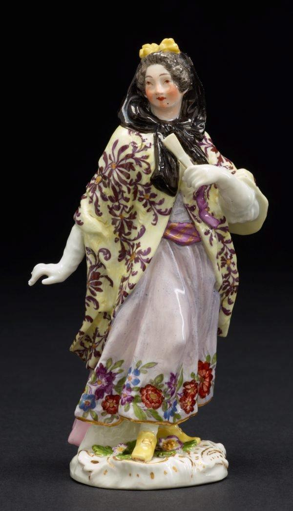 An image of A London courtesan, model