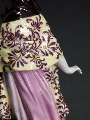 Alternate image of A London courtesan, model by Meissen