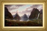 Alternate image of Milford Sound, New Zealand by Eugene von Guérard