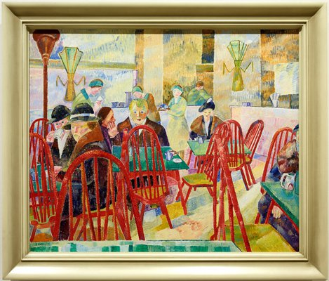 Alternate image of The Lacquer Room by Grace Cossington Smith