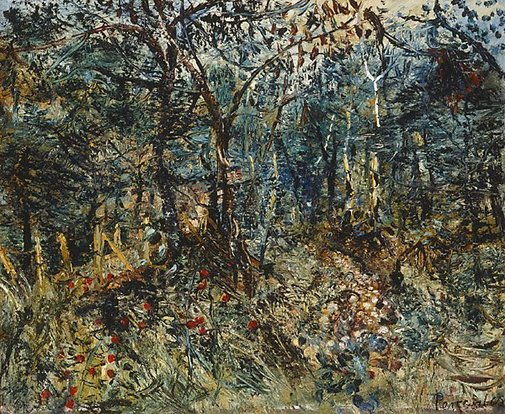 An image of Briar and dry creek by John Perceval