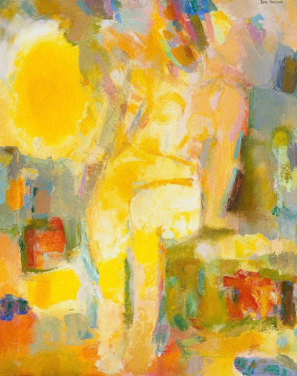 An image of Nude in yellow