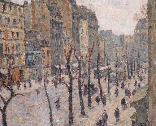 An image of Avenue du Maine, Paris by Robert Campbell