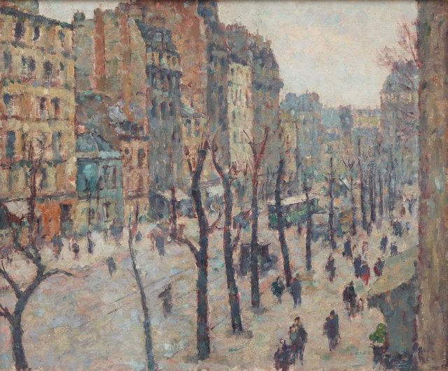 An image of Avenue du Maine, Paris