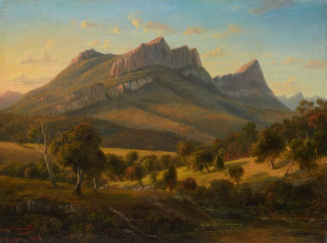 An image of Mount Abrupt, the Grampians, Victoria