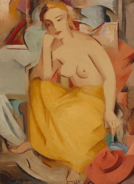 An image of Seated figure by Rah Fizelle