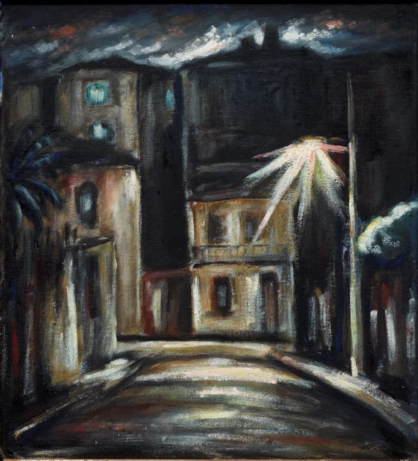 Nocturne no. 3, Commonwealth Lane, 1936 by Danila Vassilieff