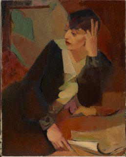 Portrait of Lucie Beynis, (1929) by Grace Crowley
