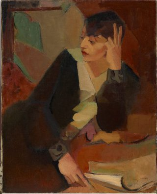 AGNSW collection Grace Crowley Portrait of Lucie Beynis (1929) OA14.1965