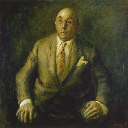 An image of Camille Gheysens by William Dobell