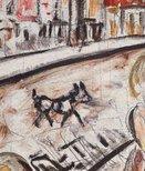 Alternate image of Fitzroy street scene by Danila Vassilieff