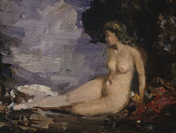 An image of Study for 'Classic romance'