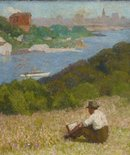 Alternate image of Down the hills to Berry's Bay by Roland Wakelin