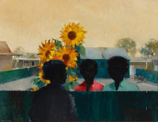 An image of Sunflowers in Ceduna by Frederic Henry Bates