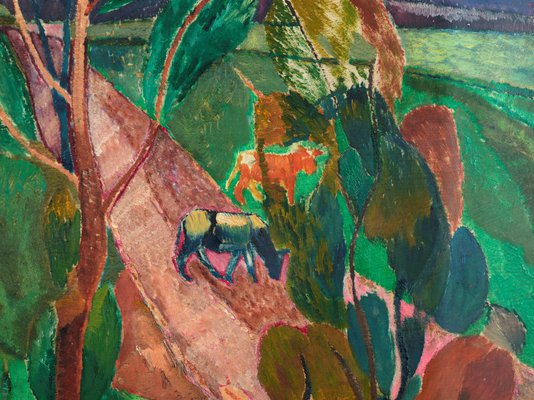 Alternate image of Landscape at Pentecost by Grace Cossington Smith