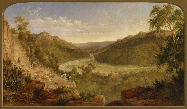 An image of Burragorang Valley near Picton